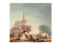 The Hermitage of San Isidro, Madrid, 1788 by Francisco De Goya, 1788 - various sizes