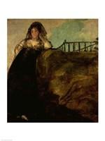 Leocadia Zorilla, the Artist's Housekeeper, 1821 by Francisco De Goya, 1821 - various sizes - $16.49