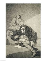 The shamefaced one by Francisco De Goya - various sizes, FulcrumGallery.com brand
