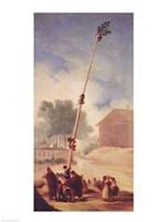 The Greasy Pole, 1787 Fine Art Print