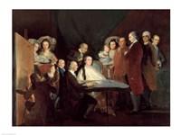 The Family of the Infante Don Luis de Borbon Fine Art Print