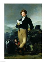 Portrait of Don Francisco de Borja Tellez Giron by Francisco De Goya - various sizes