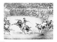 The Famous American, Mariano Ceballos, 1825 Fine Art Print