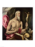 St. Jerome by El Greco - various sizes - $16.49