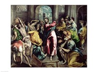 Christ Driving the Traders from the Temple, c.1600 Fine Art Print