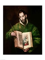 St. Luke Fine Art Print