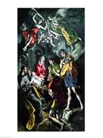 The Adoration of the Shepherds Fine Art Print
