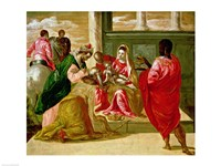 The Adoration of the Magi by El Greco - various sizes