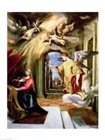 The Annunciation II Fine Art Print