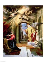 The Annunciation II Fine Art Print