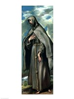 St.Francis of Assisi Fine Art Print