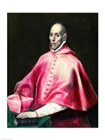 Portrait of Cardinal Juan de Tavera by El Greco - various sizes