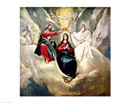 The Coronation of the Virgin Fine Art Print