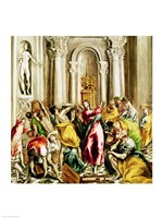 Jesus Driving the Merchants from the Temple Fine Art Print