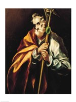 St. Jude Thaddeus, 1606 Fine Art Print
