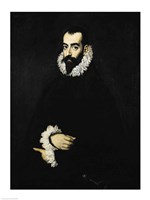 Portrait of Juan Alfonso de Pimentel y Herrera by El Greco - various sizes