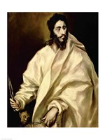 St. Bartholomew, 1606 by El Greco, 1606 - various sizes