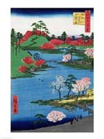 Along the Riverbank by Utagawa Hiroshige - various sizes