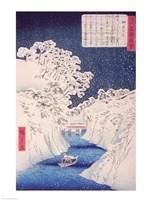 Views of Edo Fine Art Print