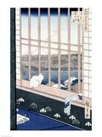 Asakusa Rice Fields by Utagawa Hiroshige - various sizes, FulcrumGallery.com brand