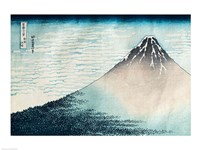 Fuji in Clear Weather Fine Art Print