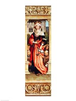 St. Elizabeth of Hungary Fine Art Print