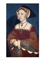 Jane Seymour, 1536 Fine Art Print