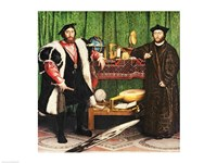The Ambassadors, 1533 Fine Art Print