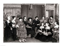 The Family of Thomas More Fine Art Print