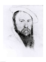 Portrait of Sir Thomas Wyatt the Younger Fine Art Print