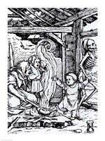 Death Taking a Child by Hans Holbein The Younger - various sizes