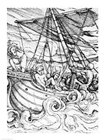 Death and the Sailor Fine Art Print
