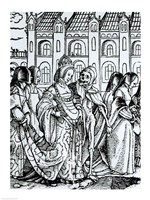 Death and the Empress by Hans Holbein The Younger - various sizes