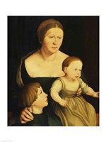 Charity or The Family of the Artist, c.1528 Fine Art Print