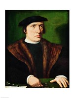 Portrait of a Man by Hans Holbein The Younger - various sizes