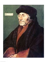 Erasmus of Rotterdam by Hans Holbein The Younger - various sizes - $16.49