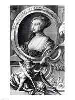 Anne Boleyn Fine Art Print