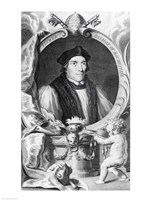 John Fisher, Bishop of Rochester by Hans Holbein The Younger - various sizes