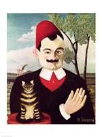 Portrait of Pierre Loti by Henri Rousseau - various sizes