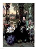 The Widow, 1868 Fine Art Print