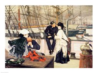 The Captain and the Mate, 1873 by James Jacques Joseph Tissot, 1873 - various sizes - $16.49