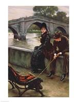 Richmond Bridge, c.1878 Fine Art Print