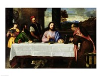 The Supper at Emmaus Fine Art Print