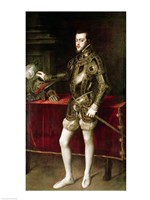 King Philip II Fine Art Print