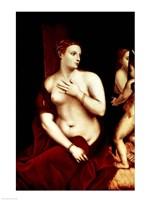 Venus in Front of the Mirror Fine Art Print