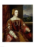 Portrait of the Empress Isabella of Portugal, 1548 Fine Art Print