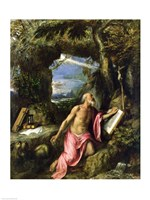 St. Jerome by Titian - various sizes