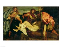The Entombment of Christ Fine Art Print