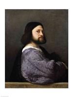 Portrait of a Man Fine Art Print
