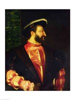 Portrait of Francis by Titian - various sizes